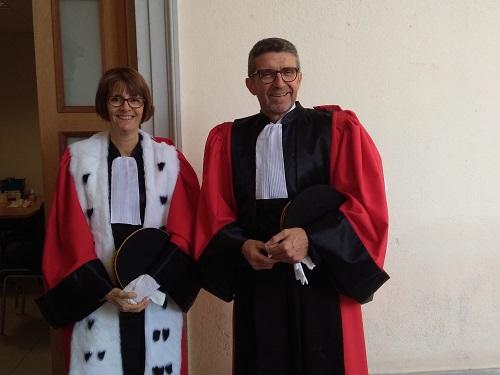 Les nouveaux magistrats