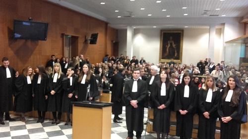 Prestation de serment des avocats
