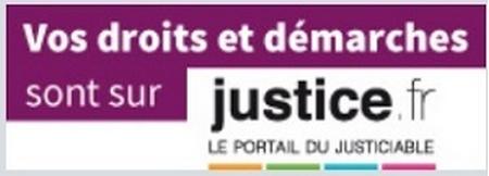 Droits et démarches du justiciable