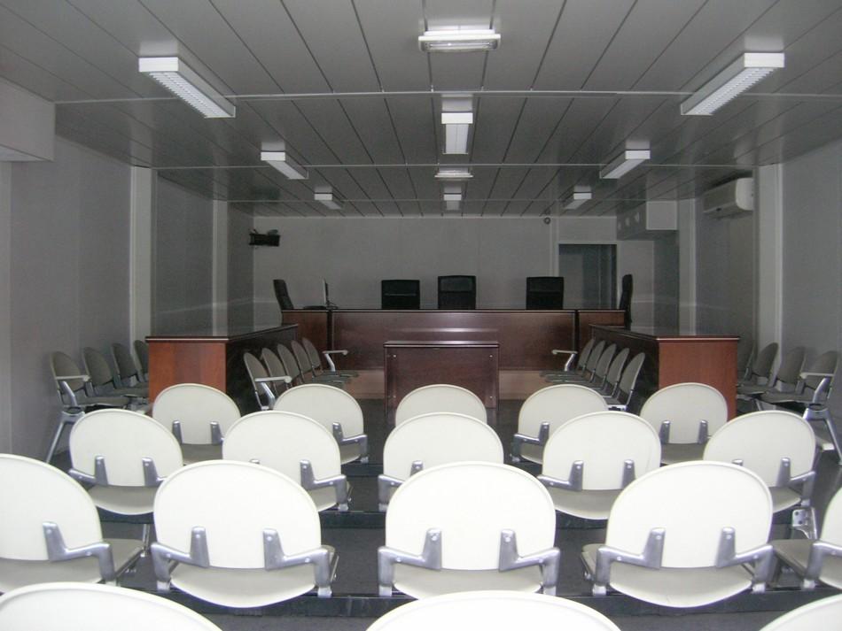 Salle d'audience des modulaires